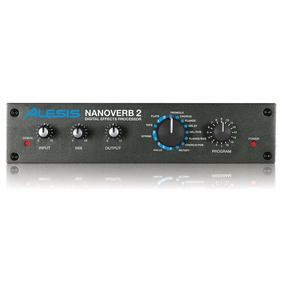 alesis nanoverb 2 digital effects processor rich tone music. Black Bedroom Furniture Sets. Home Design Ideas