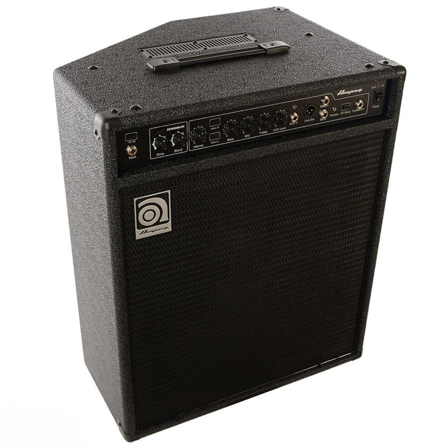 ampeg ba 115 bass guitar combo amplifier rich tone music. Black Bedroom Furniture Sets. Home Design Ideas