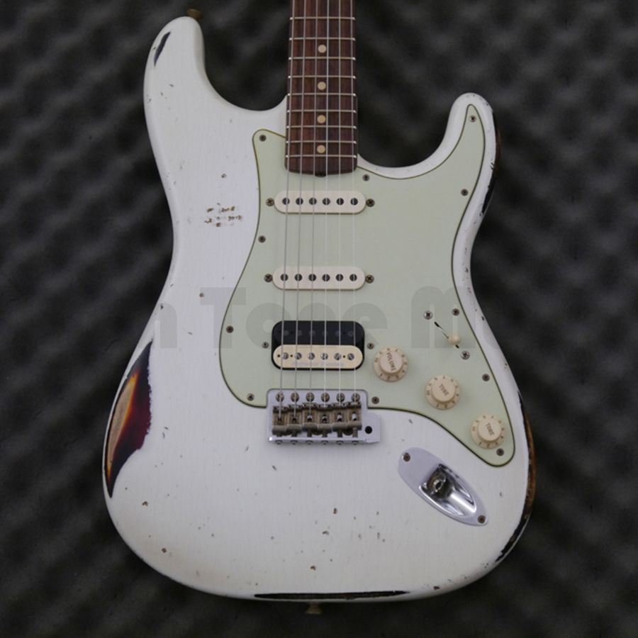 Fender Custom Shop 60s HSS Stratocaster - Heavy Relic - OW Over ...