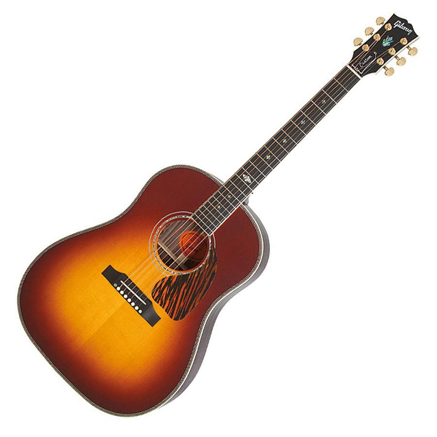 Gibson J 45 Custom Vintage Sunburst Rich Tone Music