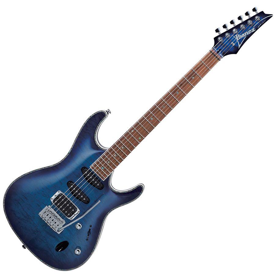 ibanez sa standard sa460qm spb electric guitar sapphire blue rich tone music. Black Bedroom Furniture Sets. Home Design Ideas