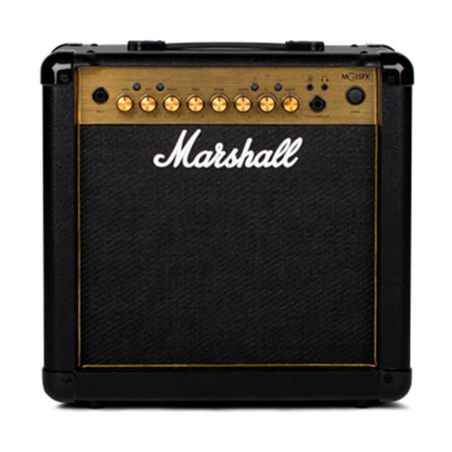Marshall Mg15gfx Gold Combo Guitar Amplifier Rich Tone Music