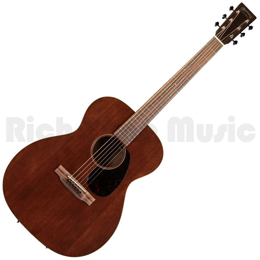 Martin 000 15me Electro Acoustic Guitar Uk Only Model Rich Tone