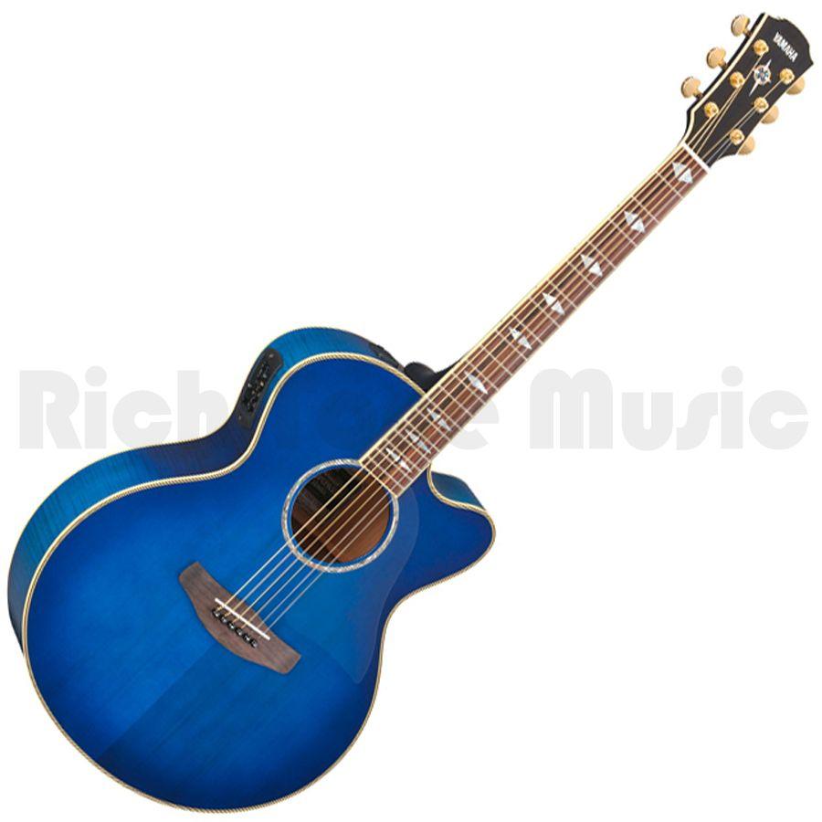 Yamaha cpx1000 electro acoustic guitar ultramarine for Yamaha sun classic parts