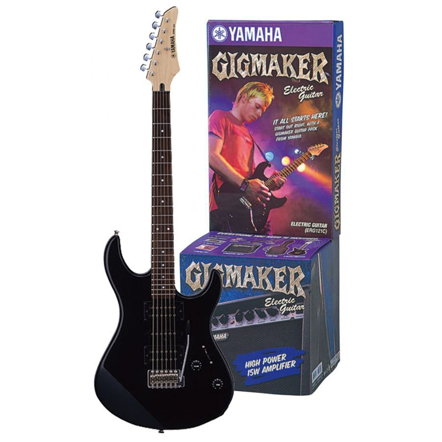 Yamaha GigMaker ERG121C Electric Guitar and Amp Pack