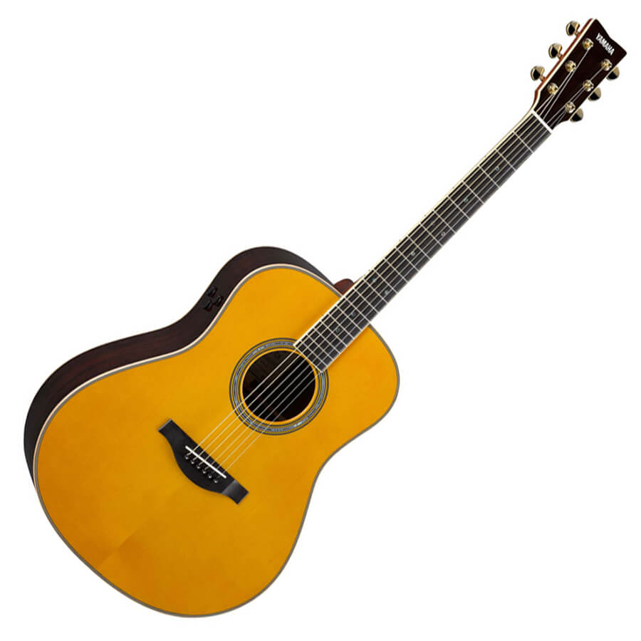 yamaha ll ta transacoustic guitar vintage tint rich tone music. Black Bedroom Furniture Sets. Home Design Ideas