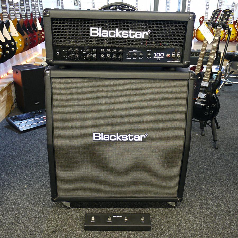 blackstar series one 1046l6 amp head s1 412a cab 2nd hand rich tone music. Black Bedroom Furniture Sets. Home Design Ideas
