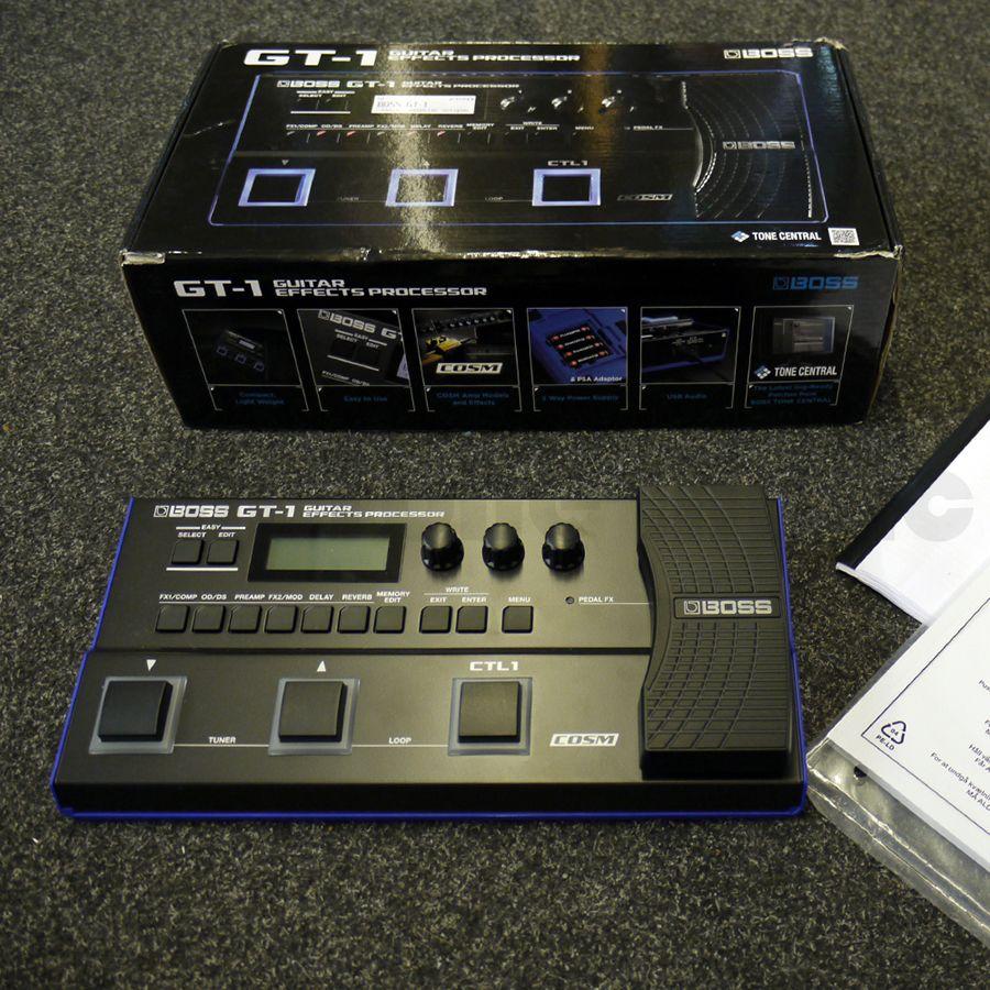 Boss GT-1 Guitar Effects Processor w/ Box - 2nd Hand