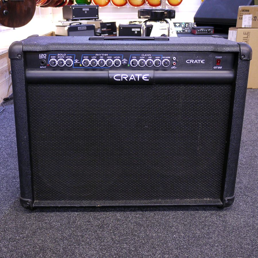 crate gt212 guitar amplifier 2nd hand rich tone music. Black Bedroom Furniture Sets. Home Design Ideas