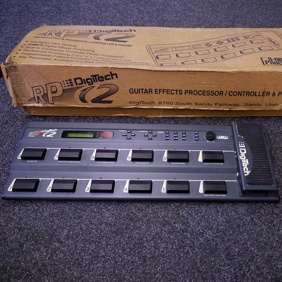 Digitech RP-12 Multi-Effects Processor w/ Box - 2nd Hand