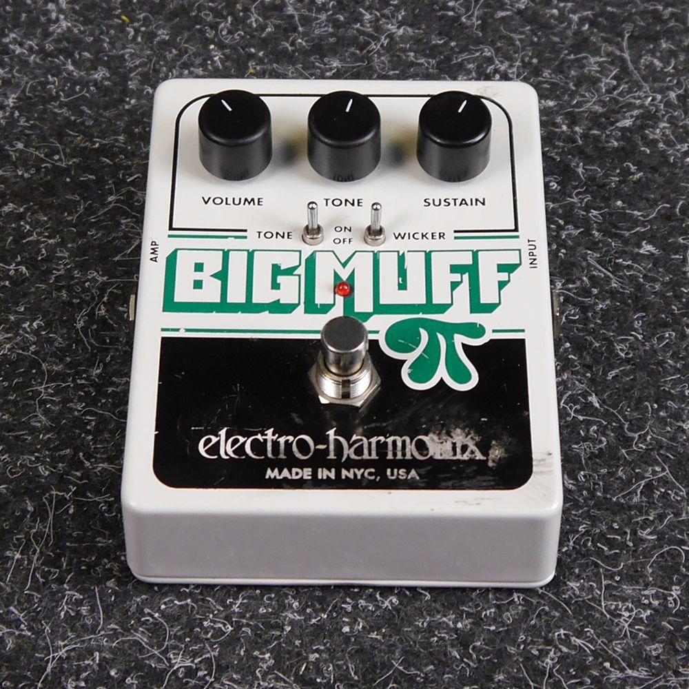 Electro Harmonix Big Muff Pi with Tone Wicker FX Pedal - 2nd Hand