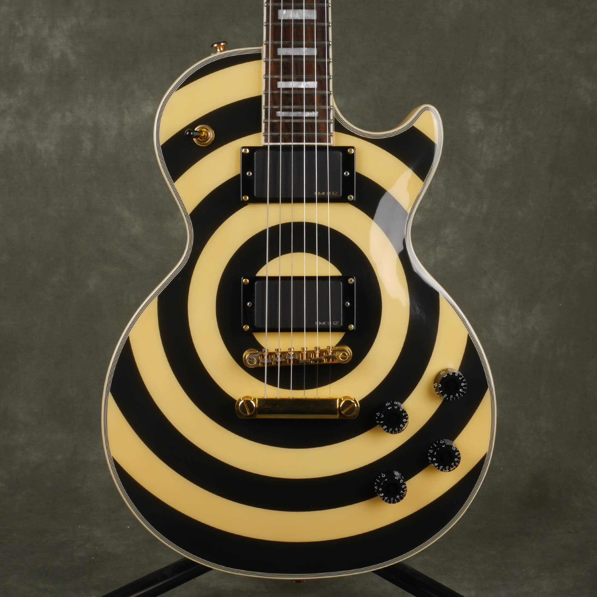 Epiphone Les Paul Zakk Wylde Bullseye Electric Guitar