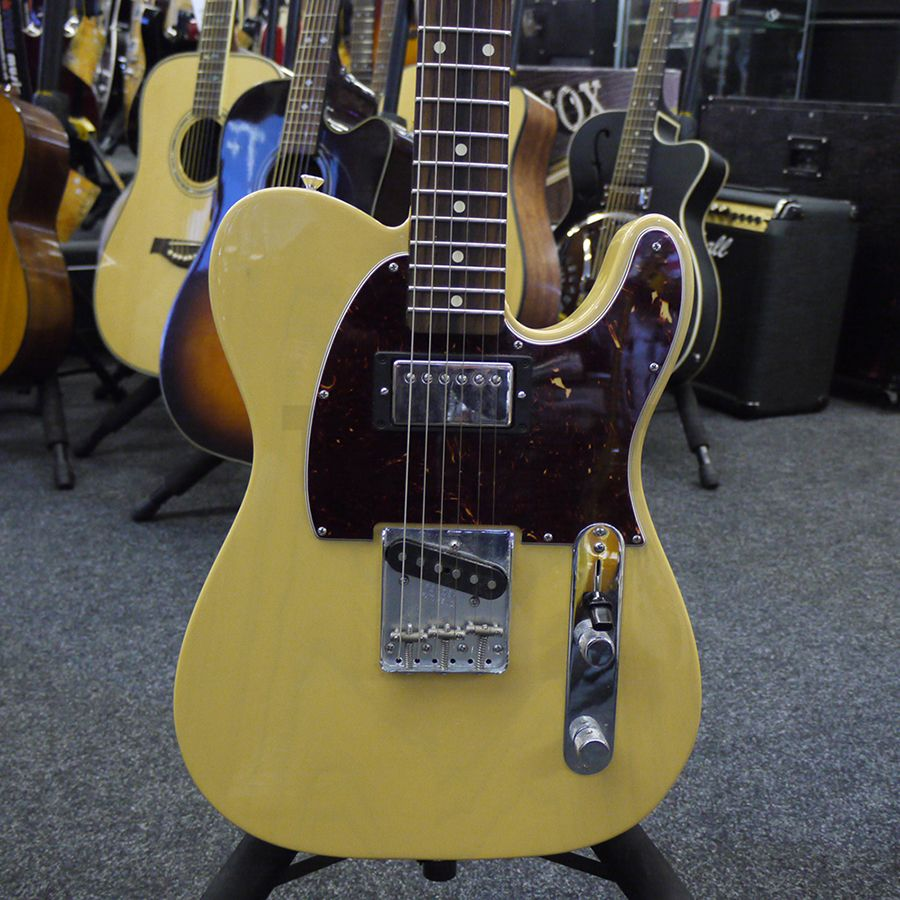 fender graham coxon telecaster electric guitar 2nd hand rich tone music. Black Bedroom Furniture Sets. Home Design Ideas