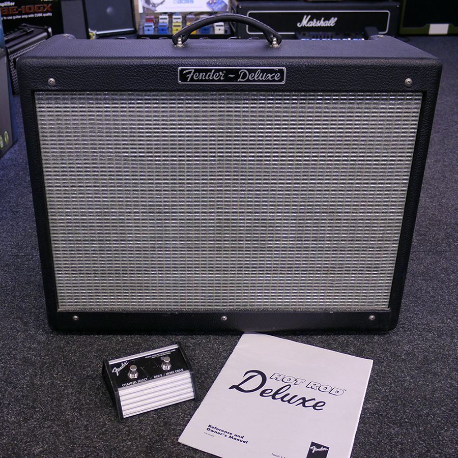fender usa hot rod deluxe with fs manual collection only 2nd rh richtonemusic co uk manual fender hot rod deluxe amplifier fender hot rod deluxe amp schematic