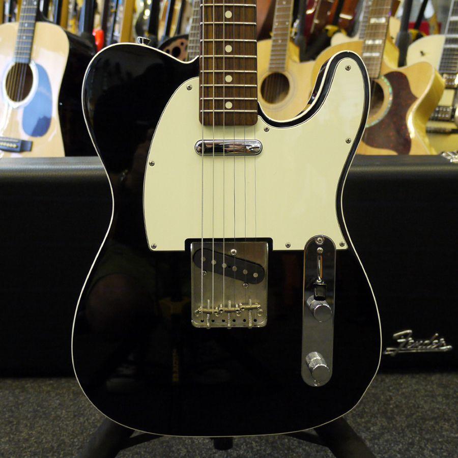 Fender Mij Vintage 62 Custom Telecaster Black W Case