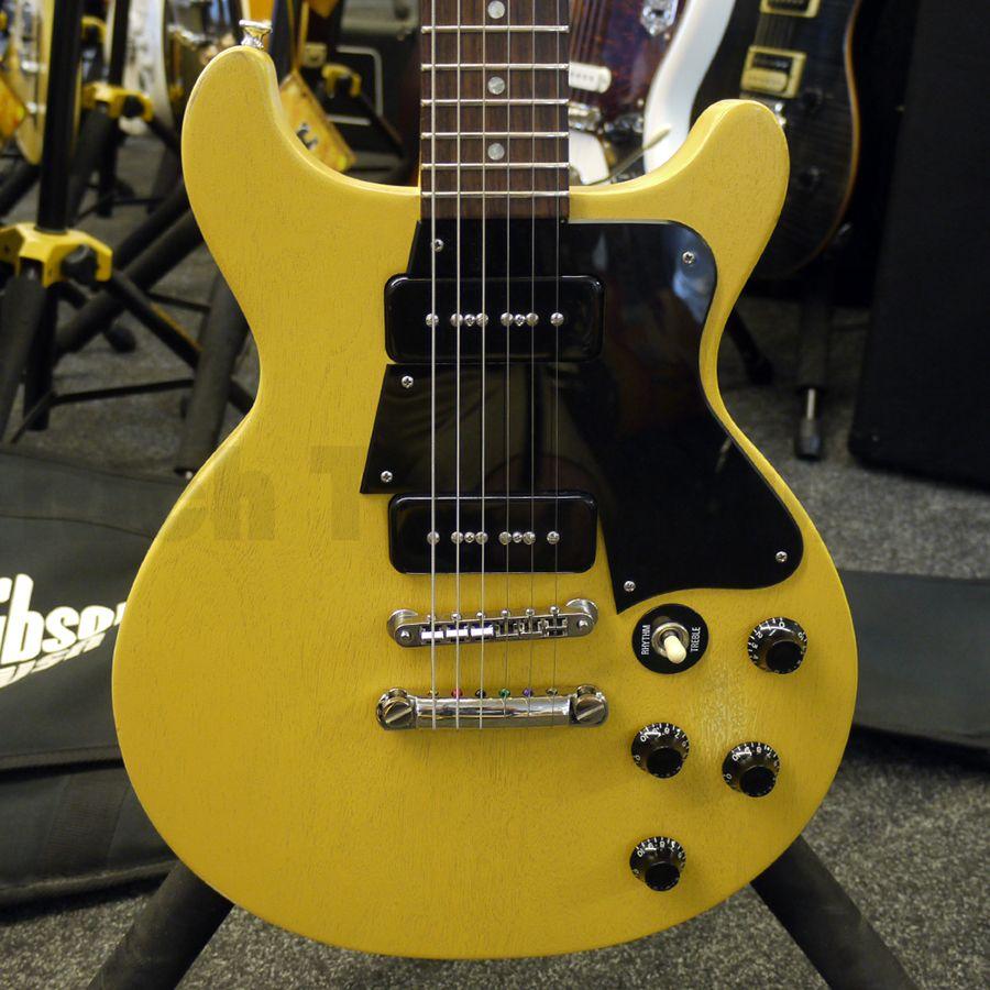 Gibson Les Paul Junior Double Cutaway - Yellow /w Bag - 2nd Hand