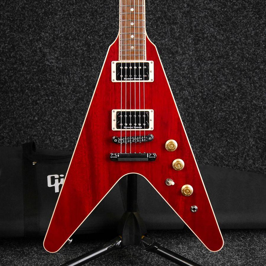 2ae0ebdbc8 Gibson Flying V Pro - Cherry w/ Gig Bag - 2nd Hand | Rich Tone Music