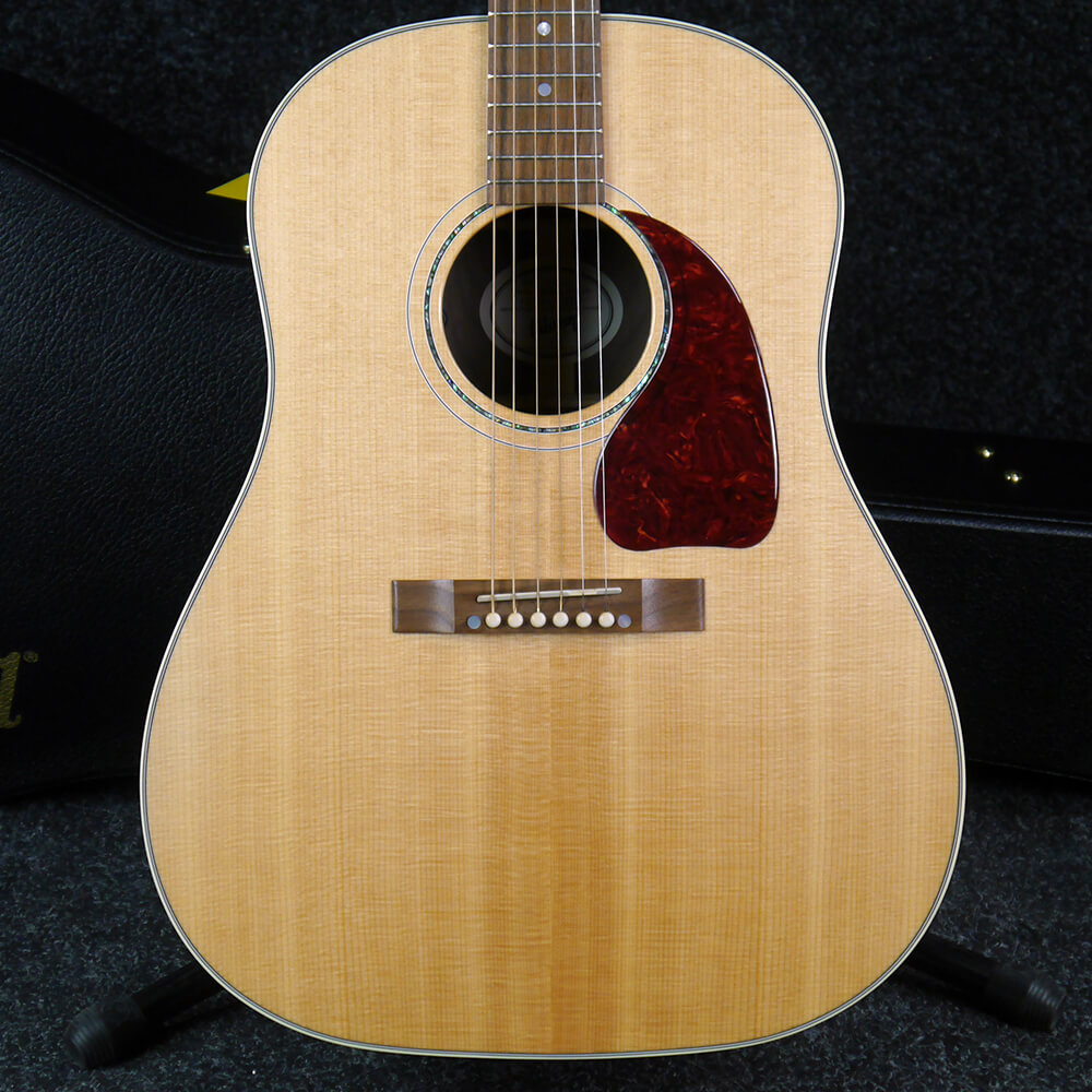 Gibson J15 Acoustic Guitar 2018 - Natural w/Hard Case - 2nd Hand