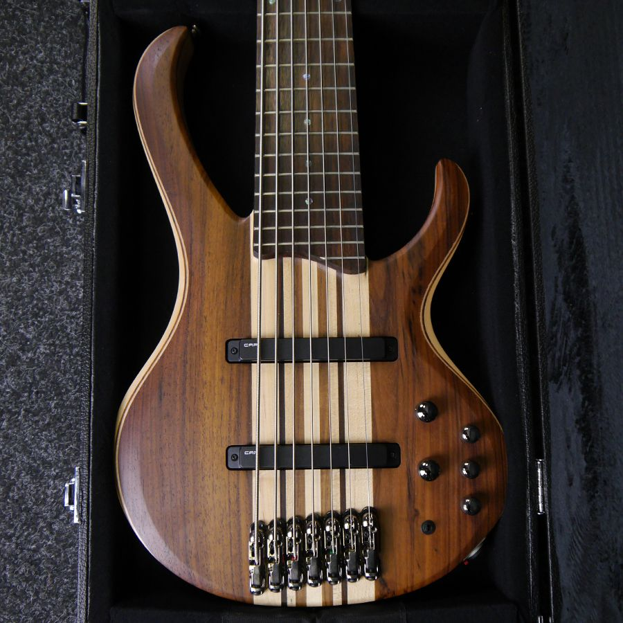 ibanez btb standard btb747 ntl 7 string bass guitar w case 2nd hand rich tone music. Black Bedroom Furniture Sets. Home Design Ideas