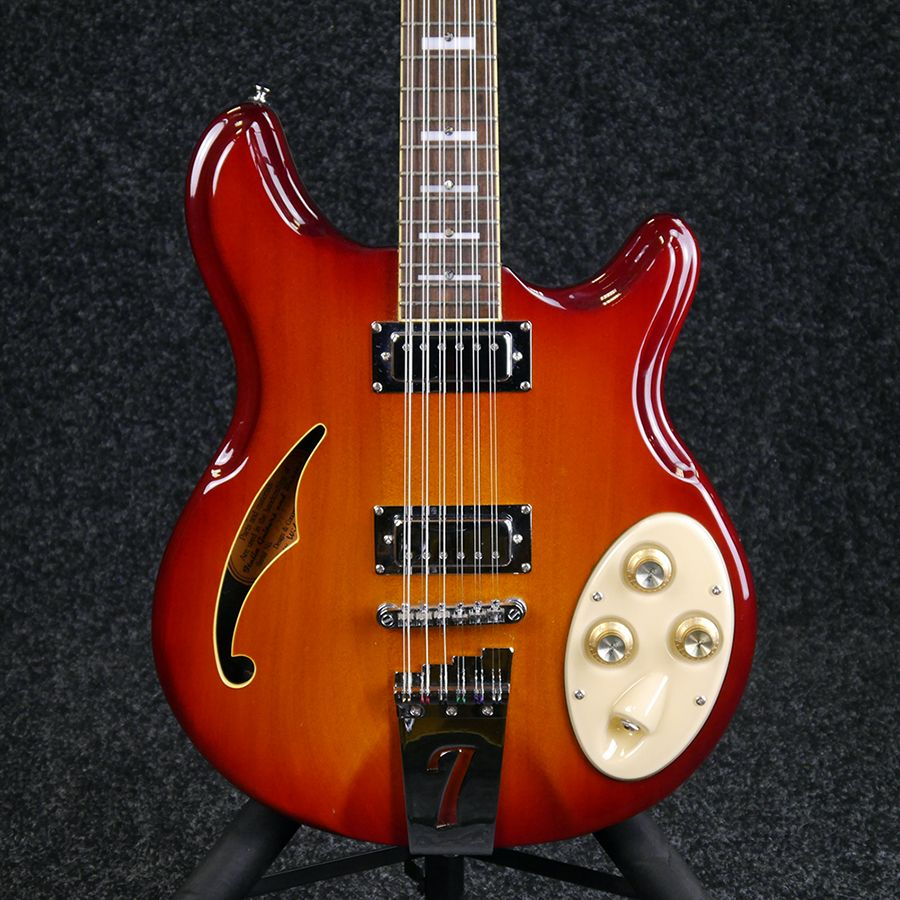 italia rimini 12 string electric guitar sunburst 2nd hand rich tone music. Black Bedroom Furniture Sets. Home Design Ideas