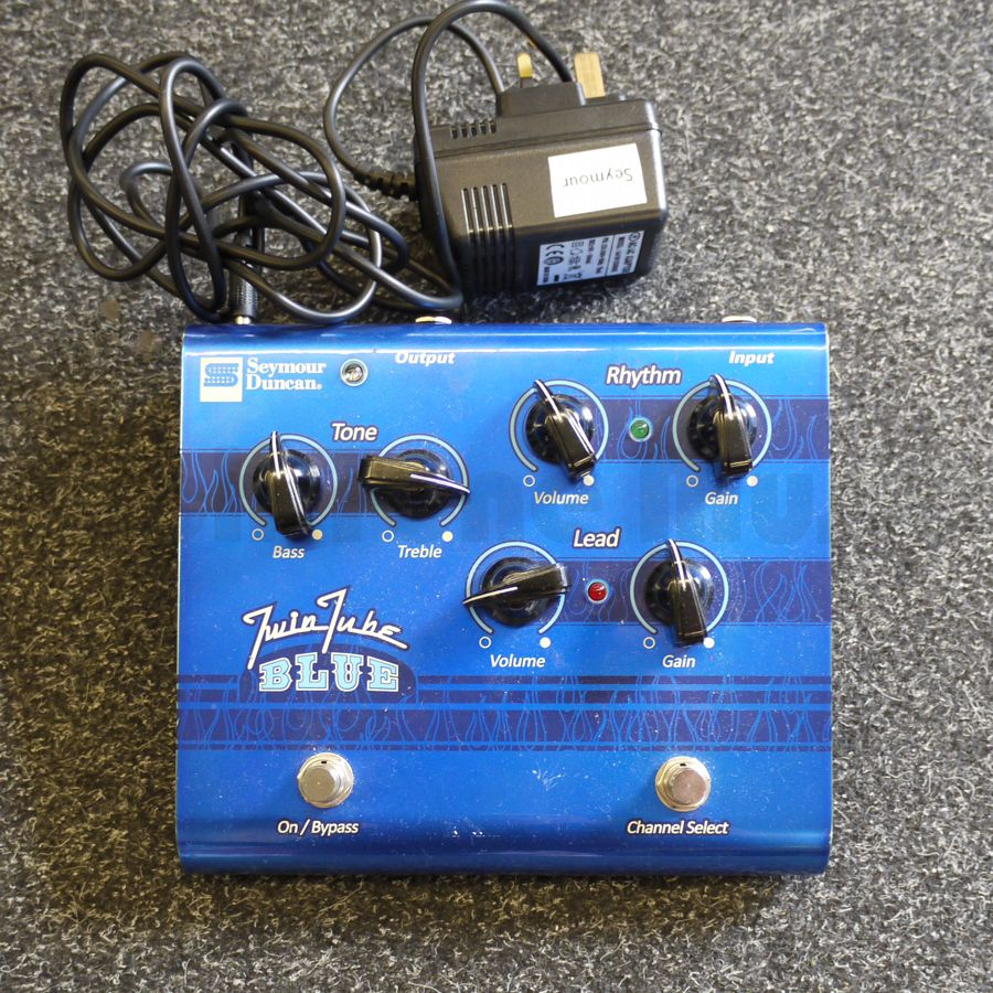 Seymour Duncan Twin Tube Blue Overdrive SFX-11 - 2nd Hand | Rich ...