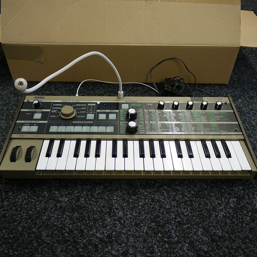 Korg MicroKORG Synthesizer / Vocoder w/ Mix & Box - 2nd Hand
