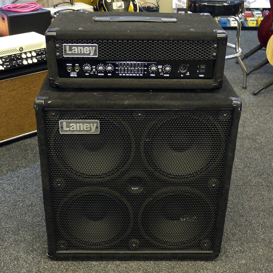 laney rb9 and rb410 richter bass amp head and cab 2nd hand rich tone music. Black Bedroom Furniture Sets. Home Design Ideas