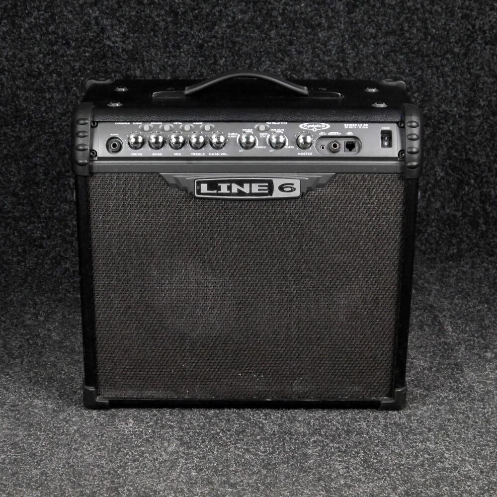 Line 6 Spider 3 30 Watt Combo Amplifier - 2nd Hand