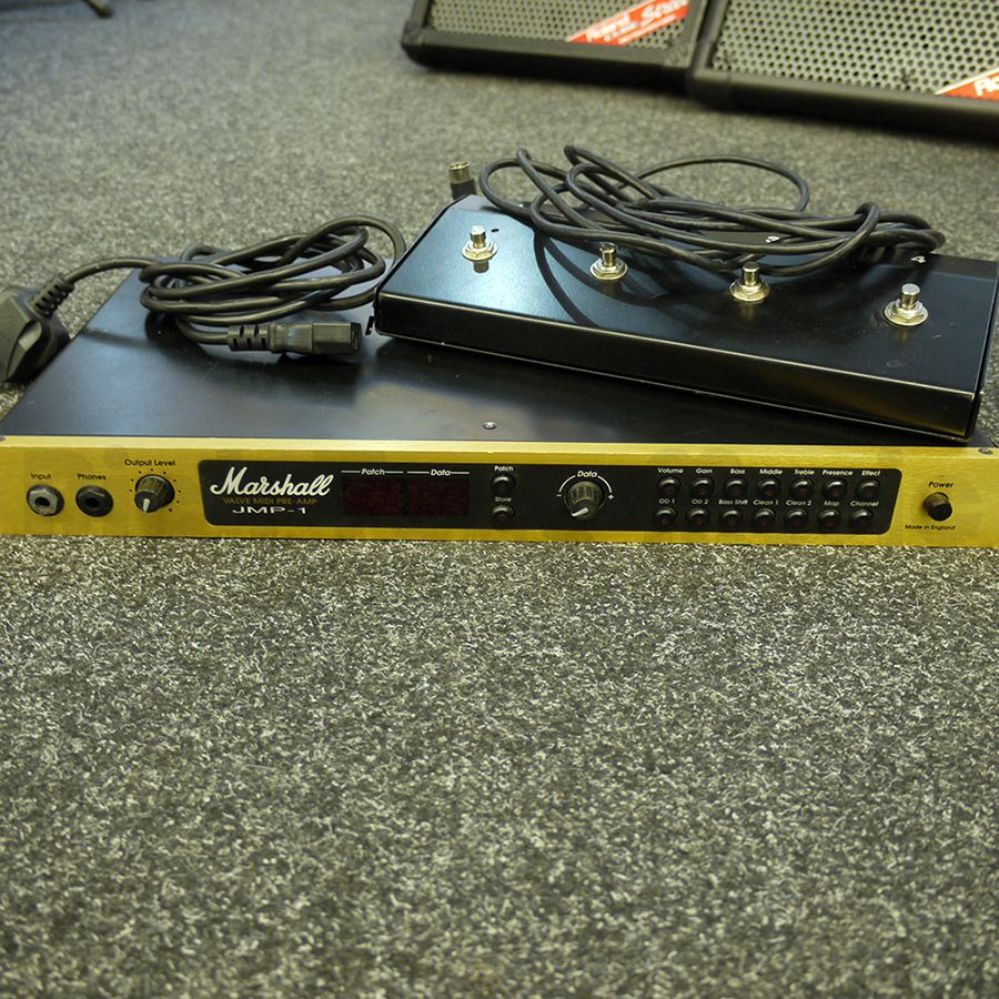 Marshall JMP-1 Midi Preamp w/ Foot Switch - 2nd Hand