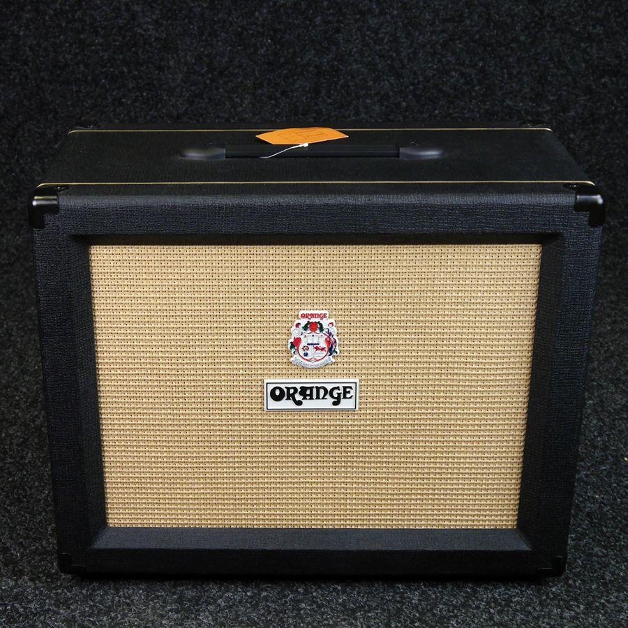 Orange Ppc112 1x12 Speaker Cabinet Black 2nd Hand Rich Tone Music