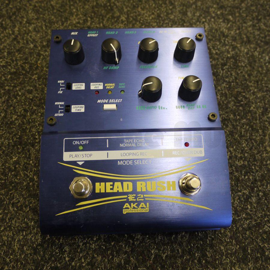 Akai Headrush E2 FX Pedal - 2nd Hand