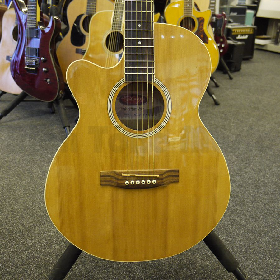 Stagg Sw206 Left Handed Acoustic Guitar 2nd Hand Rich