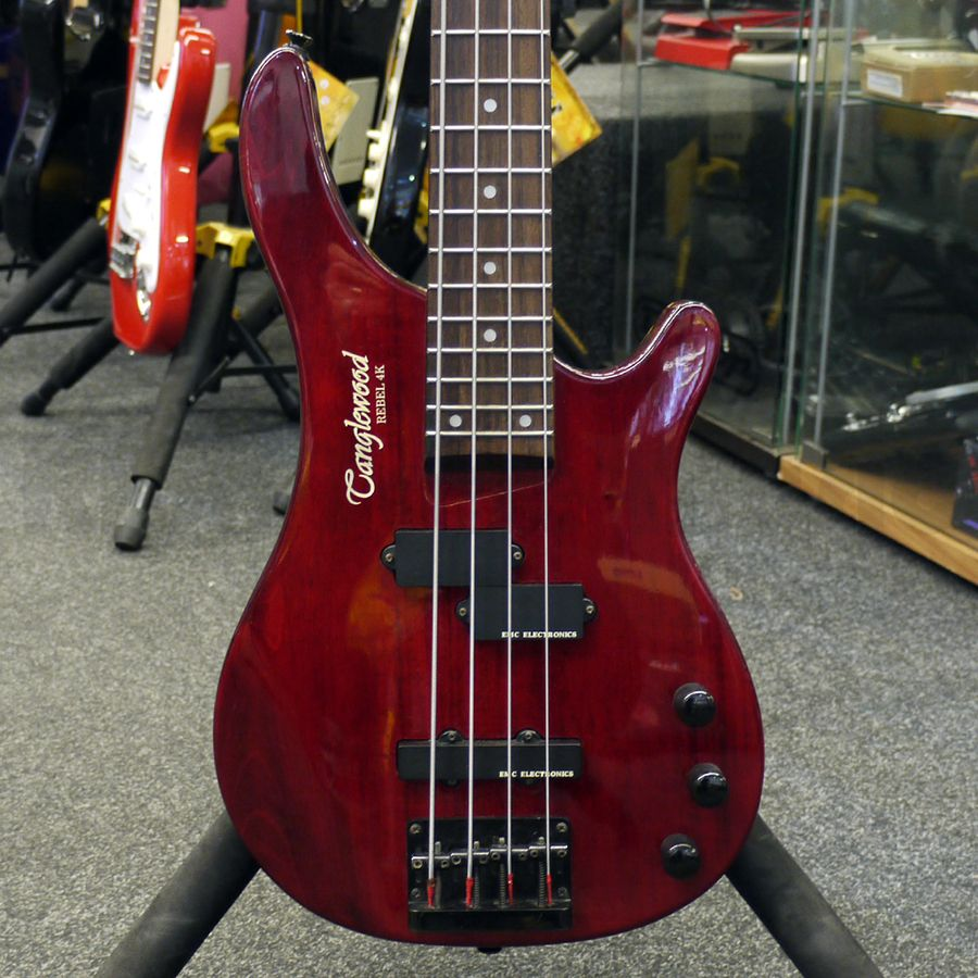 Tanglewood Rebel 4k Bass Guitar - Cherry