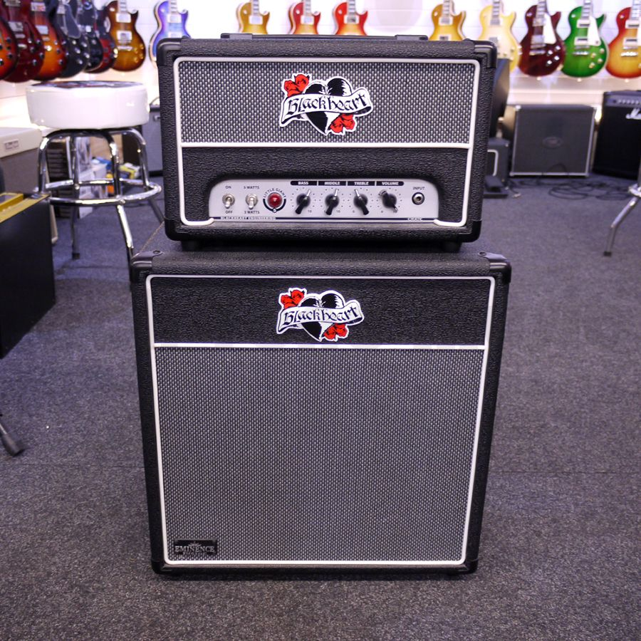 crate blackheart little giant 5 amp head bh112 cabinet 2nd hand rich tone music. Black Bedroom Furniture Sets. Home Design Ideas