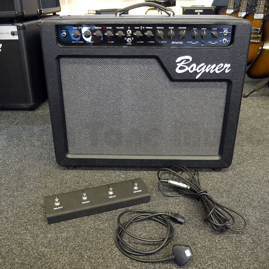 quality design on feet shots of shoes for cheap Bogner Alchemist 2x12 Combo w/ Footswitch *COLLECTION ONLY* - 2nd Hand
