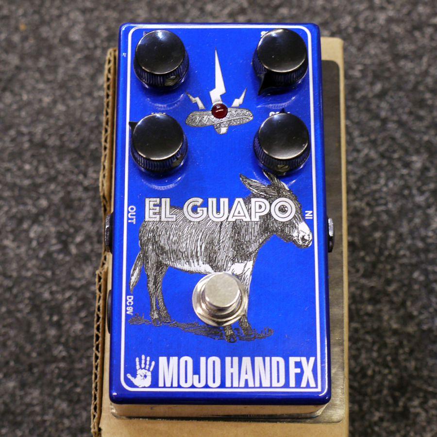 Mojo Hand Fx El Guapo Fuzz Pedal W Box 2nd Rich Tone Music