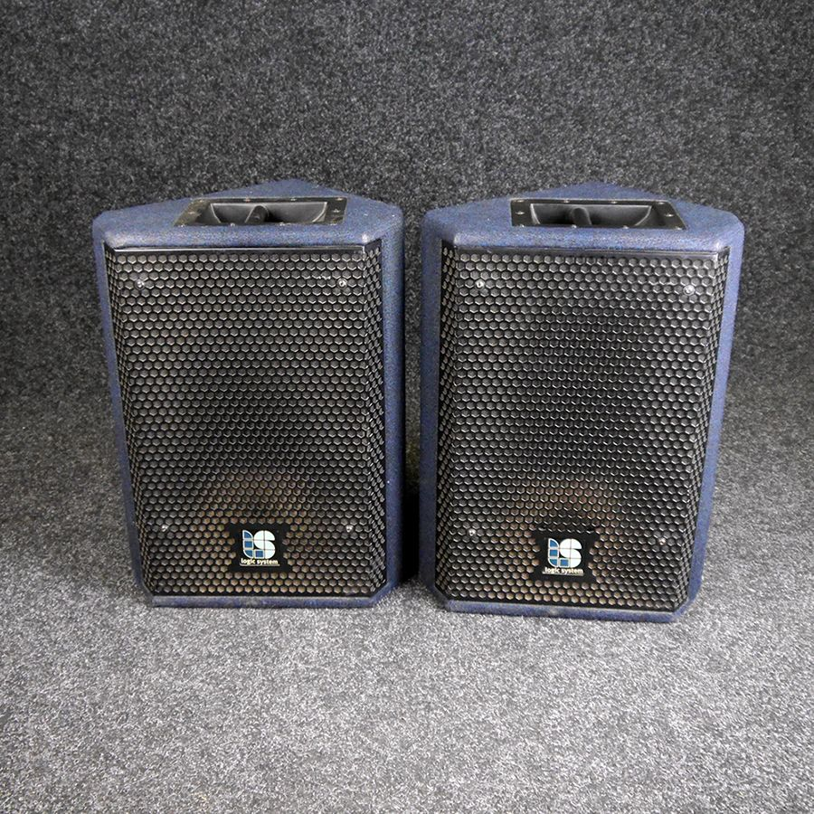 Logic Systems CM12 Passive PA Speakers - 2nd Hand *COLLECTION ONLY*