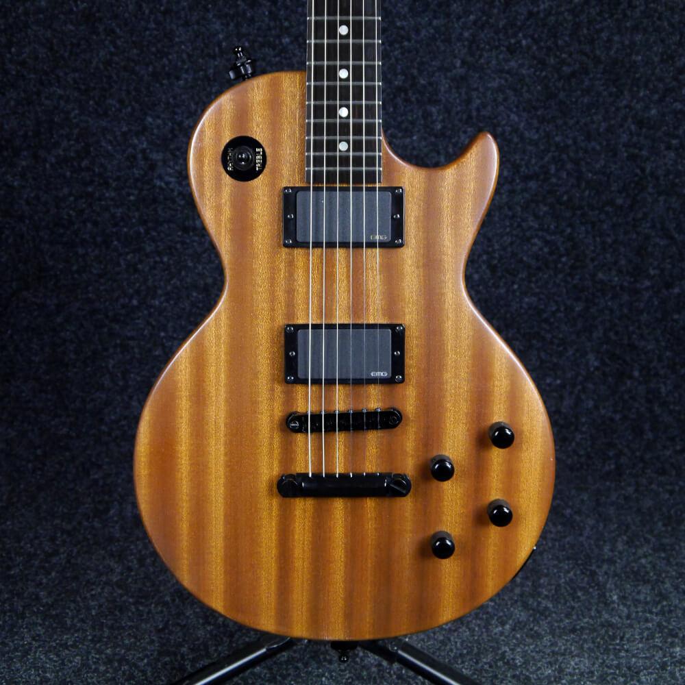 Warmoth Parts Custom Built Single Cutaway Electric Guitar - Natural - 2nd  Hand