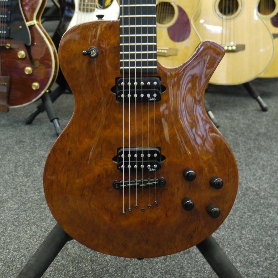 parker pm20 bubinga electric guitar 2nd hand rich tone music. Black Bedroom Furniture Sets. Home Design Ideas