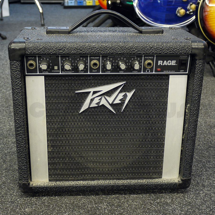 Peavey Rage 158 Usa Practice Amplifier 2nd Hand Rich