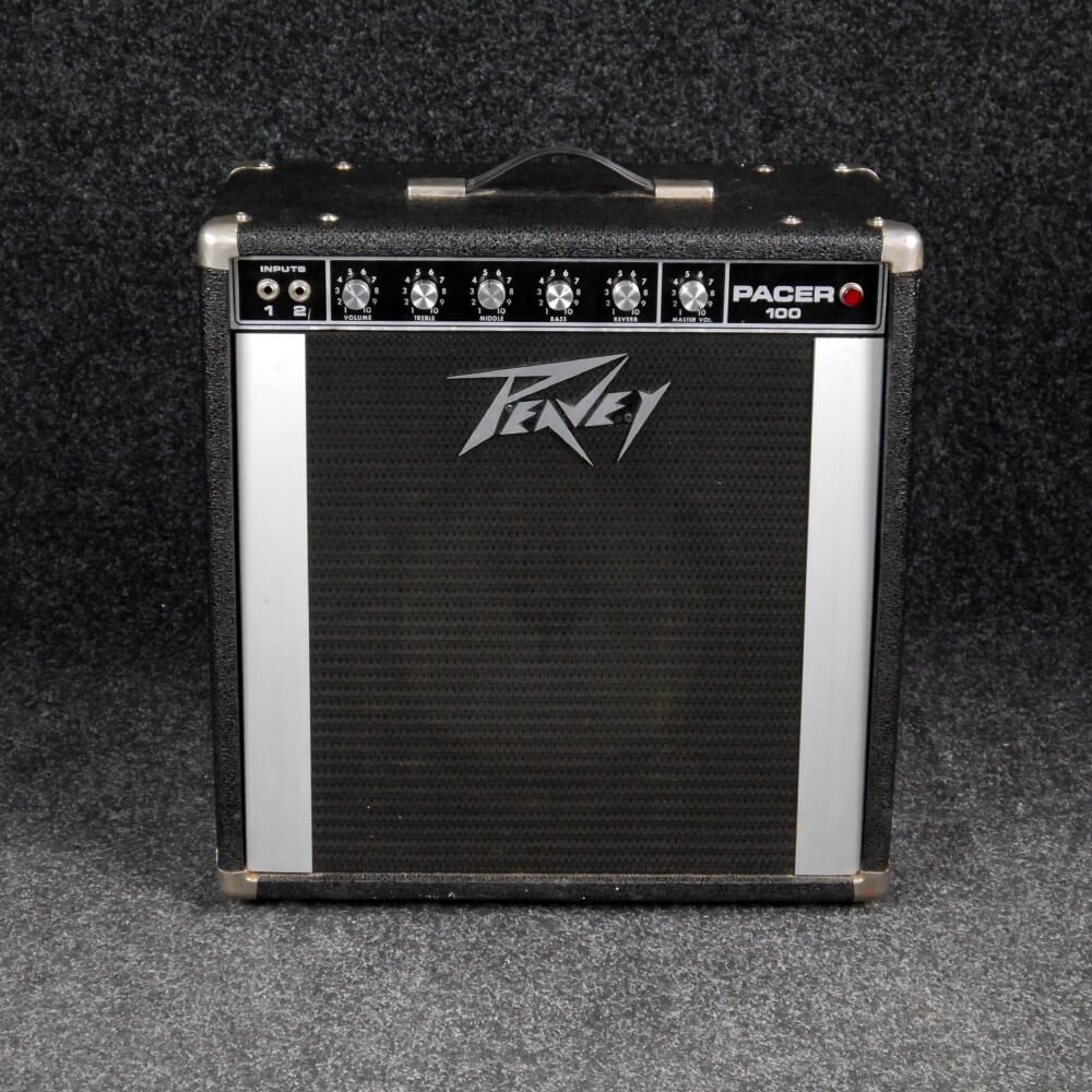 Peavey Pacer 100 1970s Combo Amplifier 2nd Hand Rich