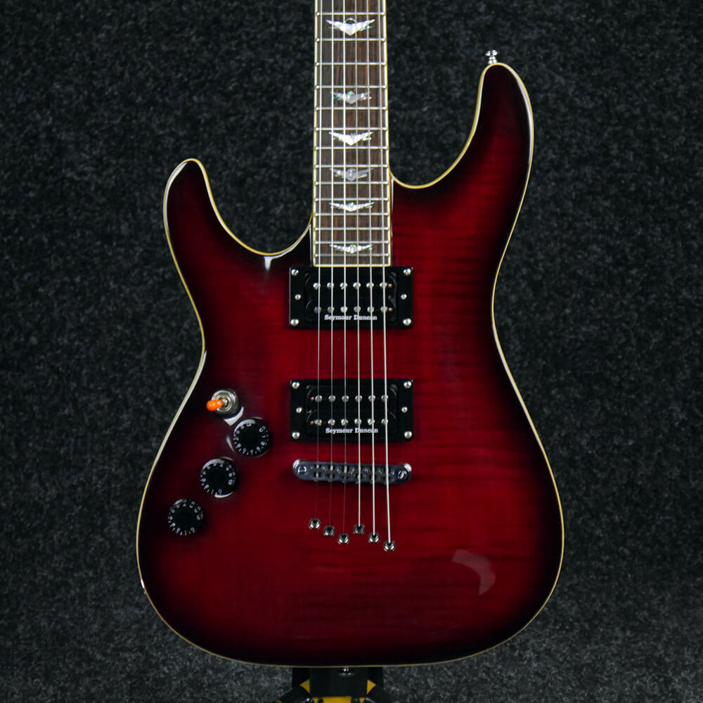 Schecter Diamond Series C-1 Plus, Left Handed - Red - 2nd Hand