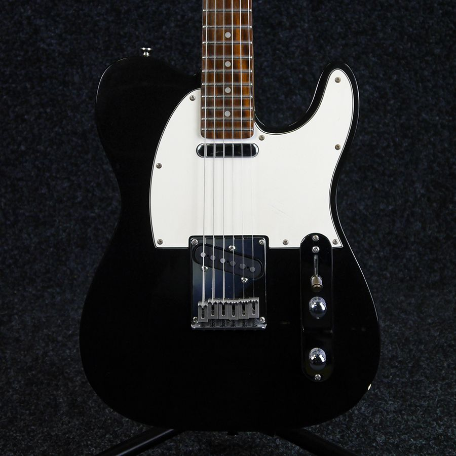 squier standard series telecaster black 2nd hand rich tone music. Black Bedroom Furniture Sets. Home Design Ideas