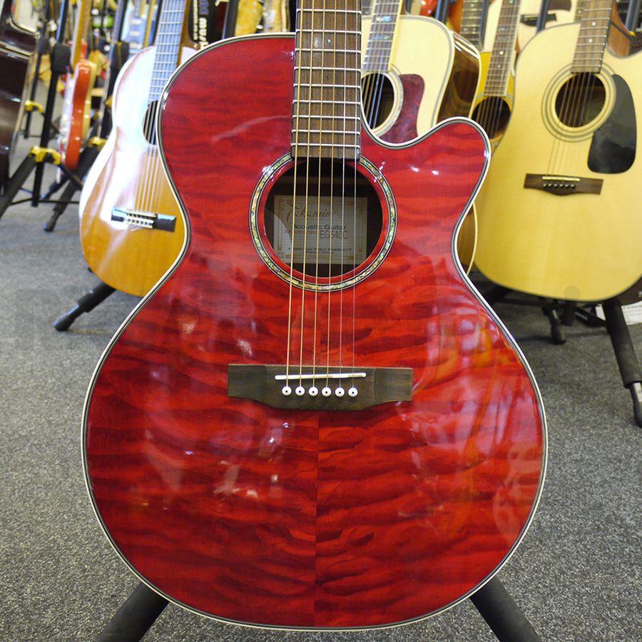 Takamine Eg540c Acoustic Guitar 2nd Hand Rich Tone Music