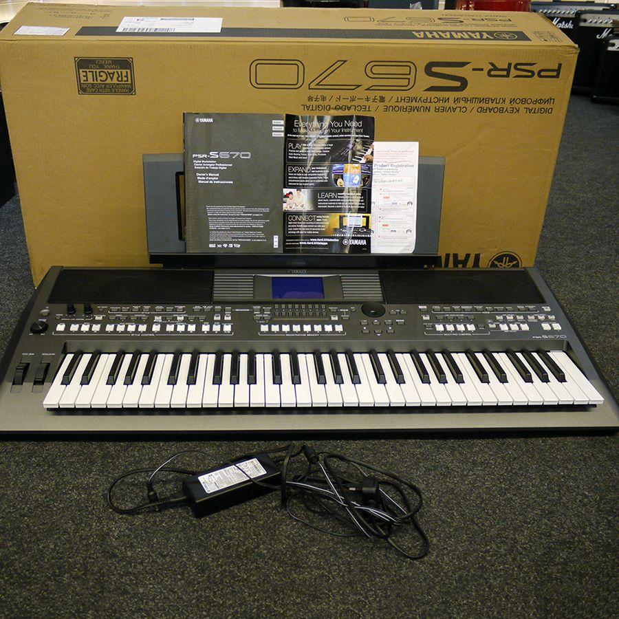 yamaha psr s670 keyboard w box 2nd hand rich tone music. Black Bedroom Furniture Sets. Home Design Ideas