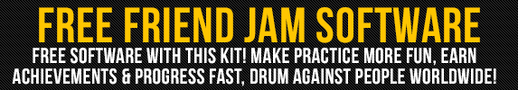 Free Friend Jam Software Available With This Roland TD-1K