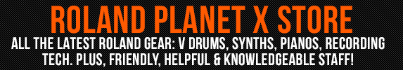 Rich Tone Music Ltd Are Produt to be a Roland Planet X Store