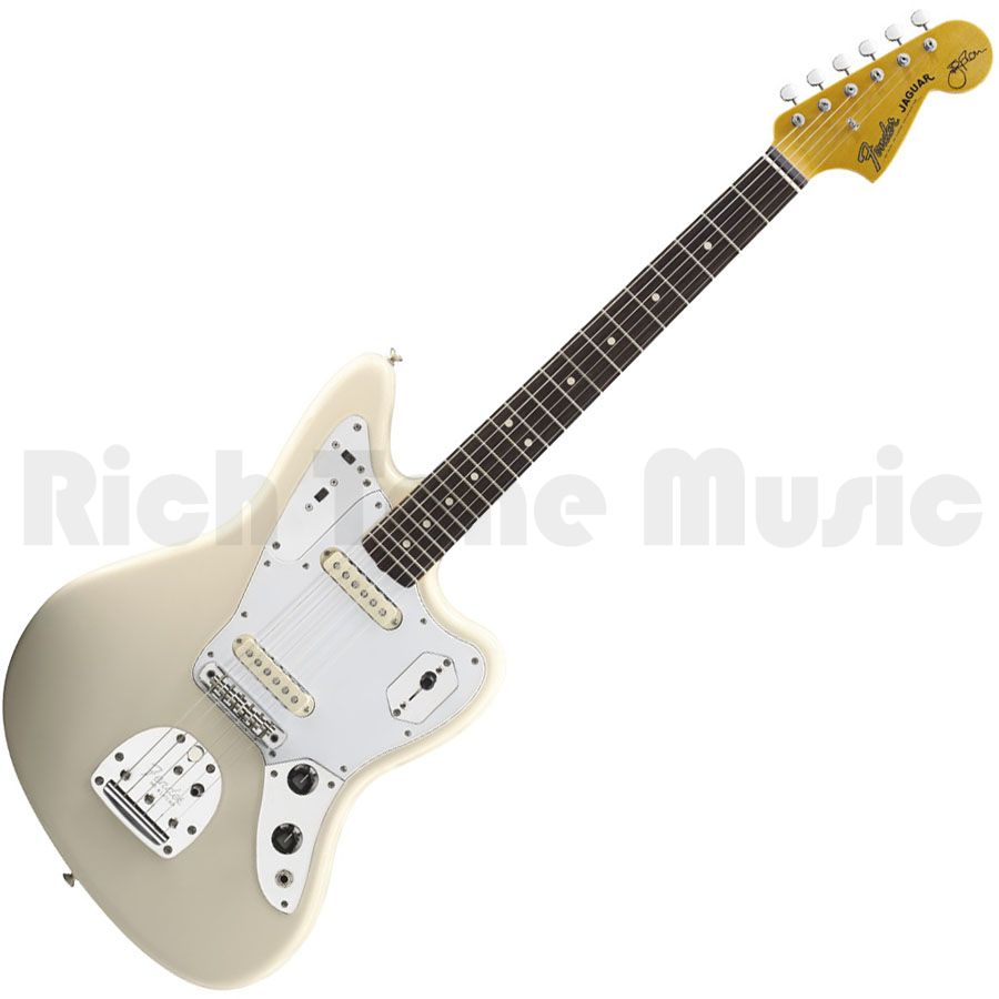 Fender Jaguar Blacktop Reviewfender 90 Review Dv Johnny Marr Wiring Diagram Olympic White Rich Tone Music