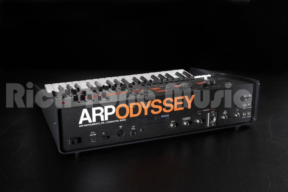 Korg ARP ODYSSEY Analog Synthesizer - MK3 - Black and Orange