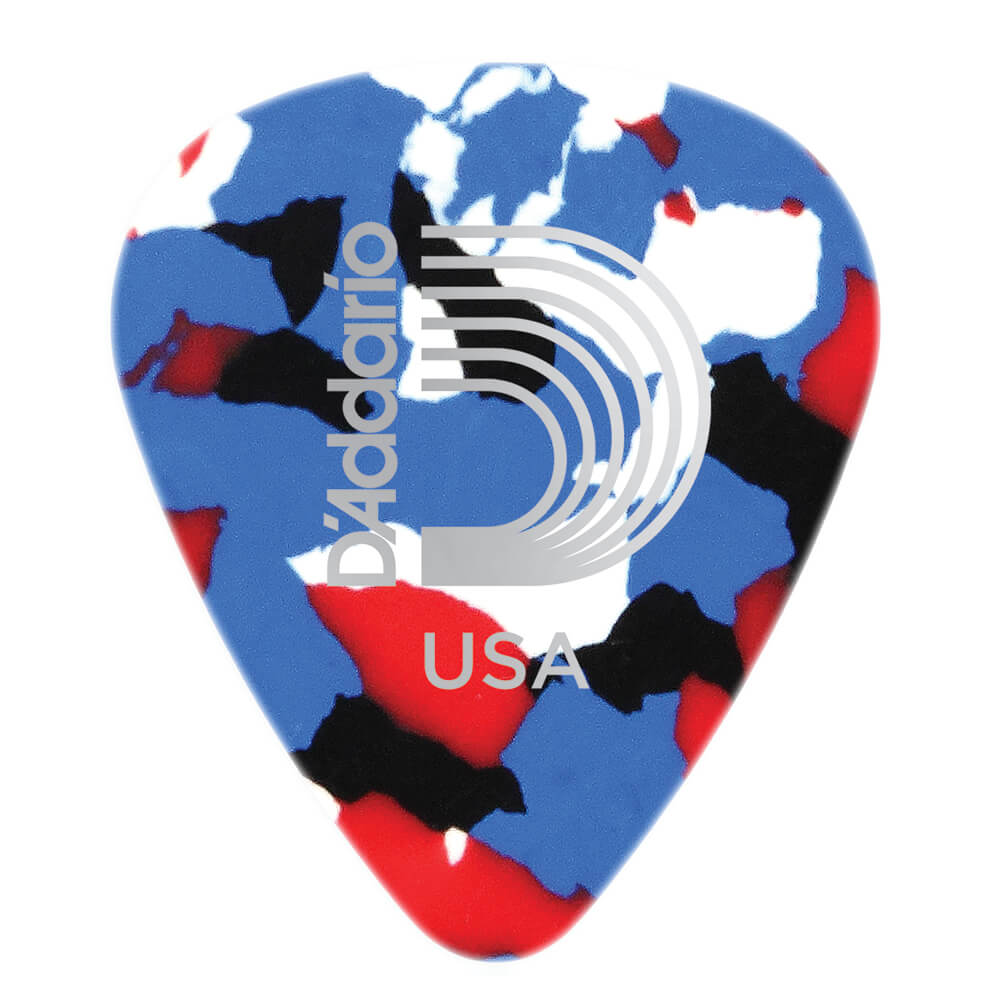 Planet Waves Checkerboard Celluloid Guitar Picks 10 pack Heavy